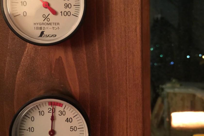 放射温度計。