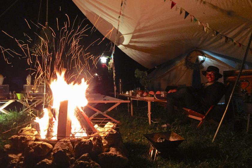 キャンプ合宿。